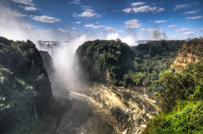Plakat Victoria Falls