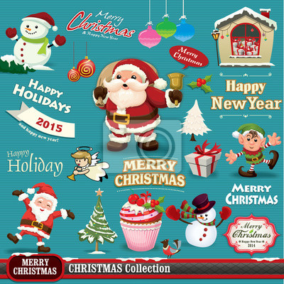 Vintage Christmas projektu zestaw