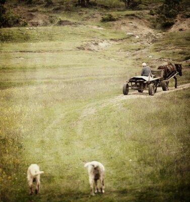Plakat Vintage Krajobraz