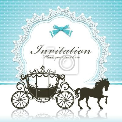 Plakat Vintage Luxury carriage