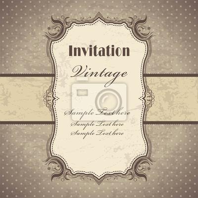 Vintage szablon ramki (3)