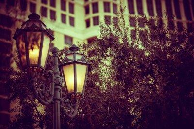 Plakat Vintage Ulica Lighting Polak