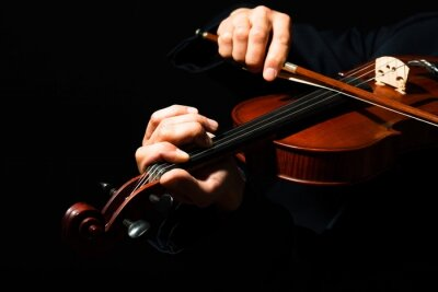 Plakat Violin, Violinist, Musician.