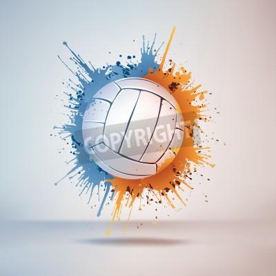 Plakat Volleyball Ball