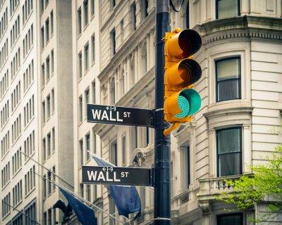 Plakat Wall Street, Nowy Jork