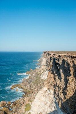 Plakat Wapień Cliff