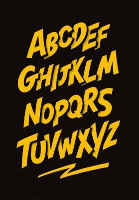 Plakat Wektor alfabet