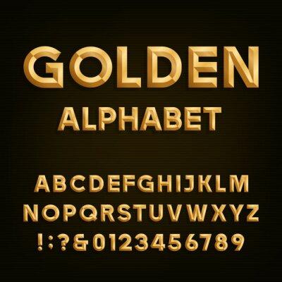 Plakat Wektor alfabet.