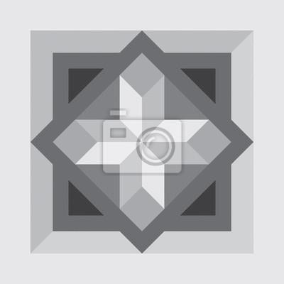 Plakat Wektor bez szwu parkiet lub marmuru tekstury