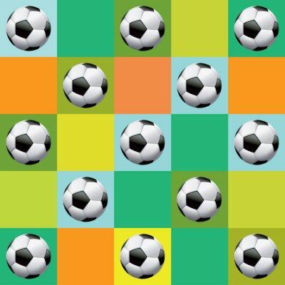 Plakat Wektor Soccer Ilustracja Wzór