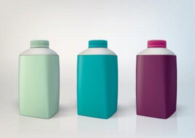 Wektor zestaw butelek do pakowania dla nowego projektu. 500 ml