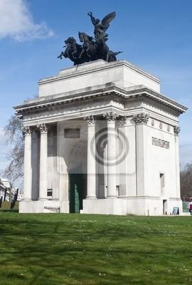 Plakat Wellington Arch w Londynie