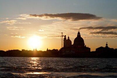 Plakat Wenecja słońca