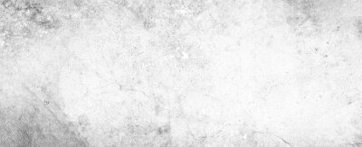 Plakat White background on cement floor texture - concrete texture - old vintage grunge texture design - large image in high resolution