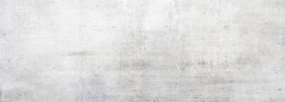 Plakat White concrete wall as background