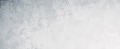 Plakat White or light gray concrete wall texture background