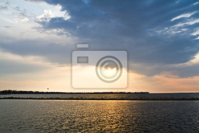 Plakat Widok na jezioro