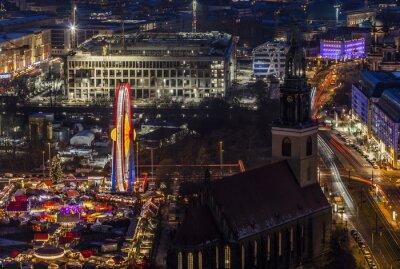 Plakat Widoki na rynku Boże Narodzenie w Berlinie