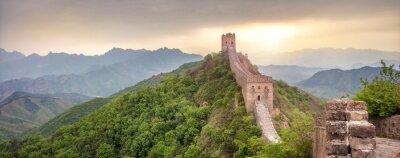 Plakat Wielki Mur Chiński