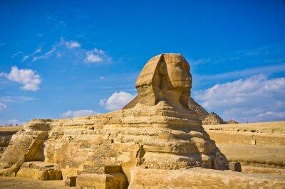 Plakat Wielki Sfinks w Gizie, Egipt