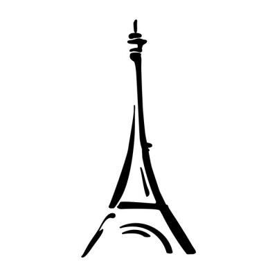 Plakat Wieża Eiffla