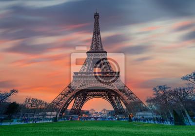 Plakat Wieża Eiffla - Paryż, Francja