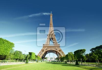 Plakat Wieża Eiffla, Paryż. Francja.