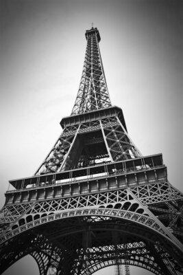 Plakat Wieża Eiffla, Paryż, Francja