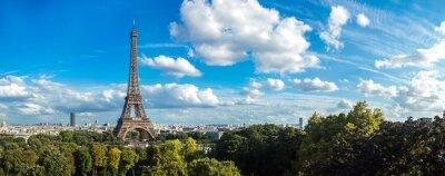 Plakat Wieża Eiffla w Paryżu, Francja