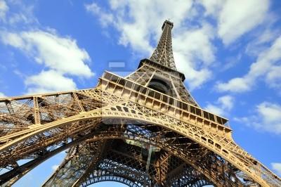 Wieża Eiffla w Paryżu, Francja.