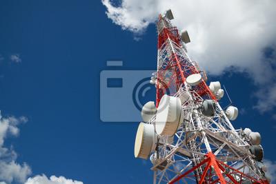 Plakat Wieża widokowa telekomunikacji