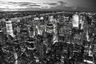 Plakat Wieżowce w Nowym Jorku, Stany Zjednoczone
