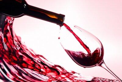 Plakat Wino czerwone