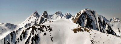 Plakat Winter Tatras in Eastern Europe