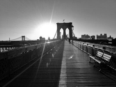 Plakat Witam Brooklyn ... jest zimno rano