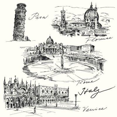 Plakat Włochy - wyciągnąć rękę kolekcja