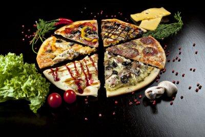 Plakat włoska pizza