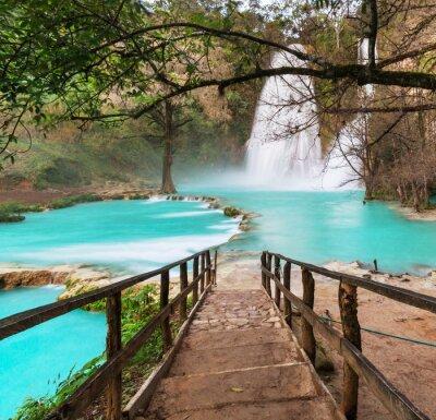 Plakat Wodospad w Meksyku