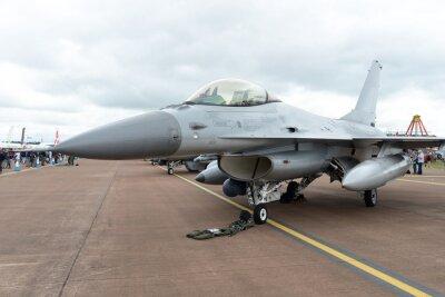 Plakat Wojskowy Szybkie Jet