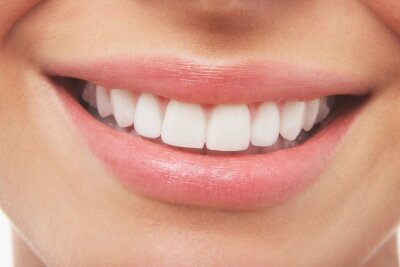 Plakat Woman Smiling With Prefect White Teeth