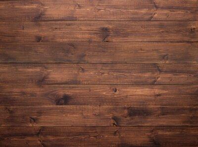 Plakat Wooden background. Ancient planks texture
