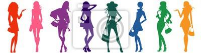 Plakat Worki sylwetki kobiet