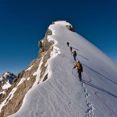 Plakat Wspinaczki górskiej