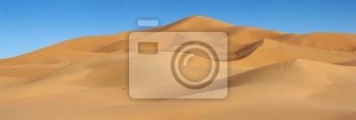 Plakat wydmy Erg Chebbi w Maroku
