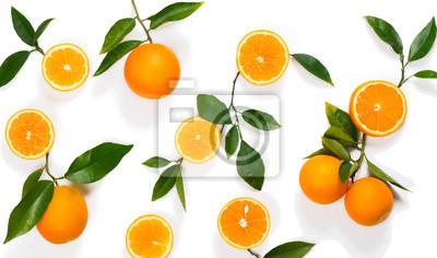 Plakat Wzorzec z pomarańczy.