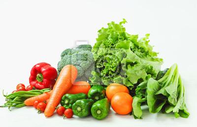 Plakat 新鮮 な 野菜 の 盛 り 合 わ せ