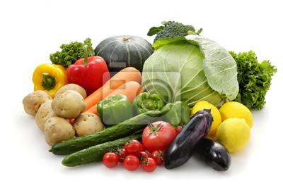 Plakat 野菜 の 集合 Zestaw warzywny