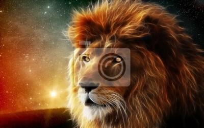 Plakat Загадочный лев