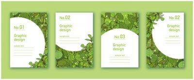 Plakat ナチュラルデザイン グラフィック素材