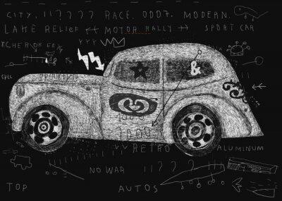 Plakat Автомобиль